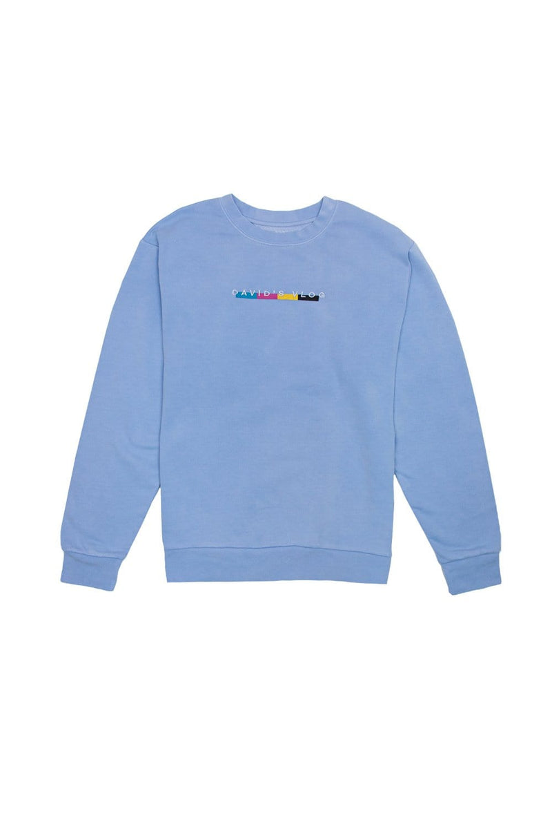 David Dobrik: Beverly 2.0 Blue Crewneck