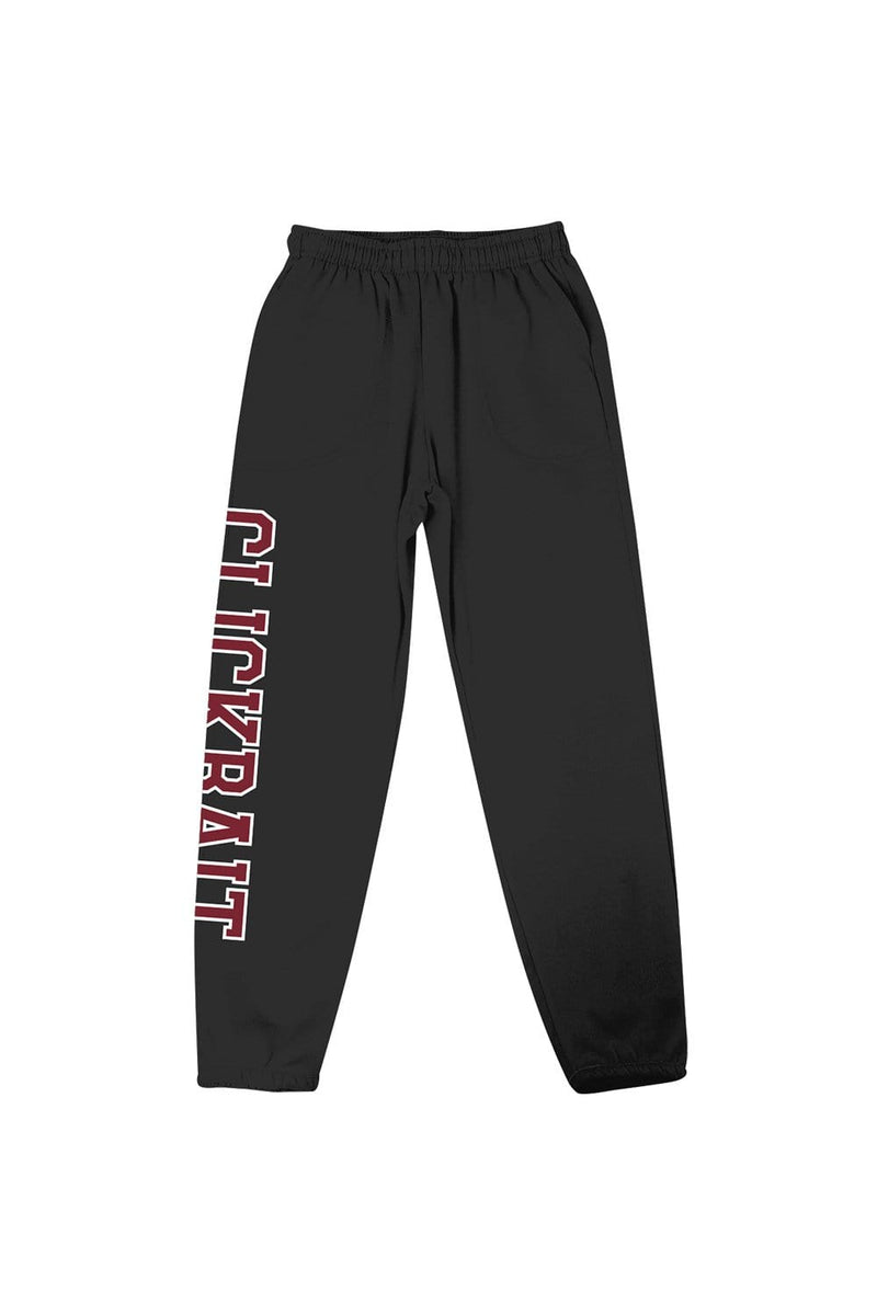 David Dobrik Black Clickbait Sweatpants