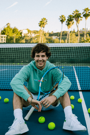 David Dobrik Mint Beverly Hoodie