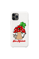 Dez Machado 'Mushroom' White Phone Case
