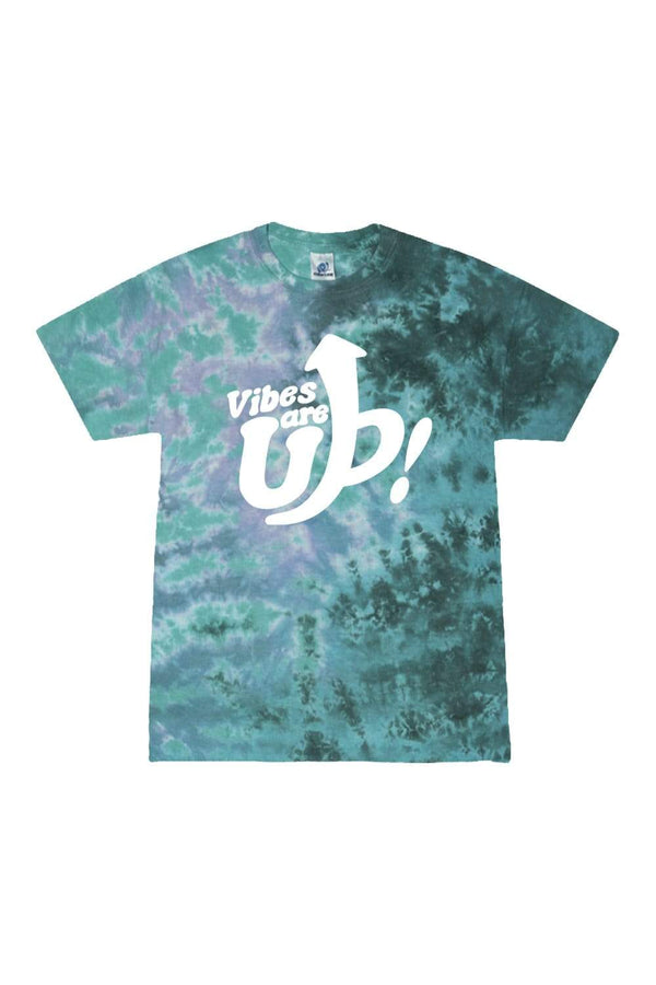 Trey Kennedy: Vibes are Up Green Tie Dye Shirt