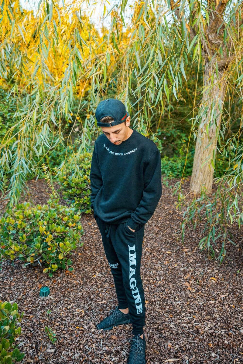 "Faze Rug ""Imagine"" Black Joggers"