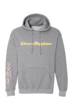 Gabbie Gonzalez 'Choose Happiness' Grey Hoodie