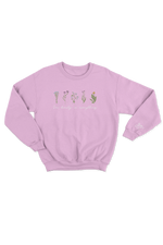 Gabbie Gonzalez 'See Beauty in Everything' Pink Crewneck