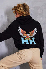 Heath Hussar Limited Edition Black Eagle Hoodie