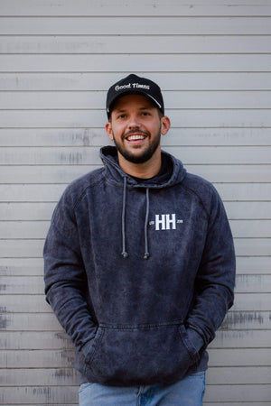 Heath Hussar Purveyor of Good Times Hoodie