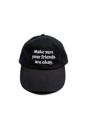 Make sure your friends are okay. Black Hat