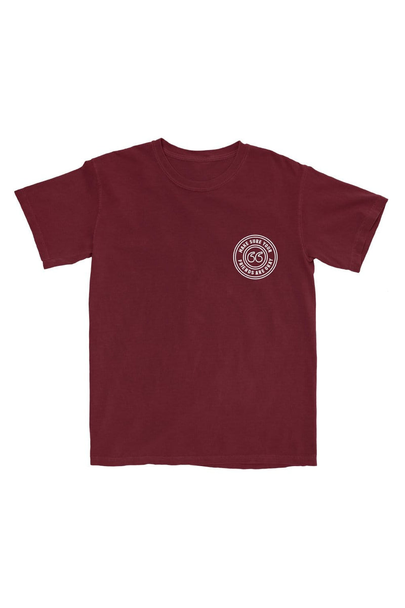 Make Sure Your Friends Are Okay: Maroon Shirt