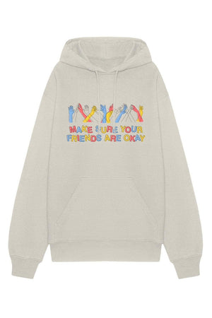 Make sure your friends are okay. Together Hoodie