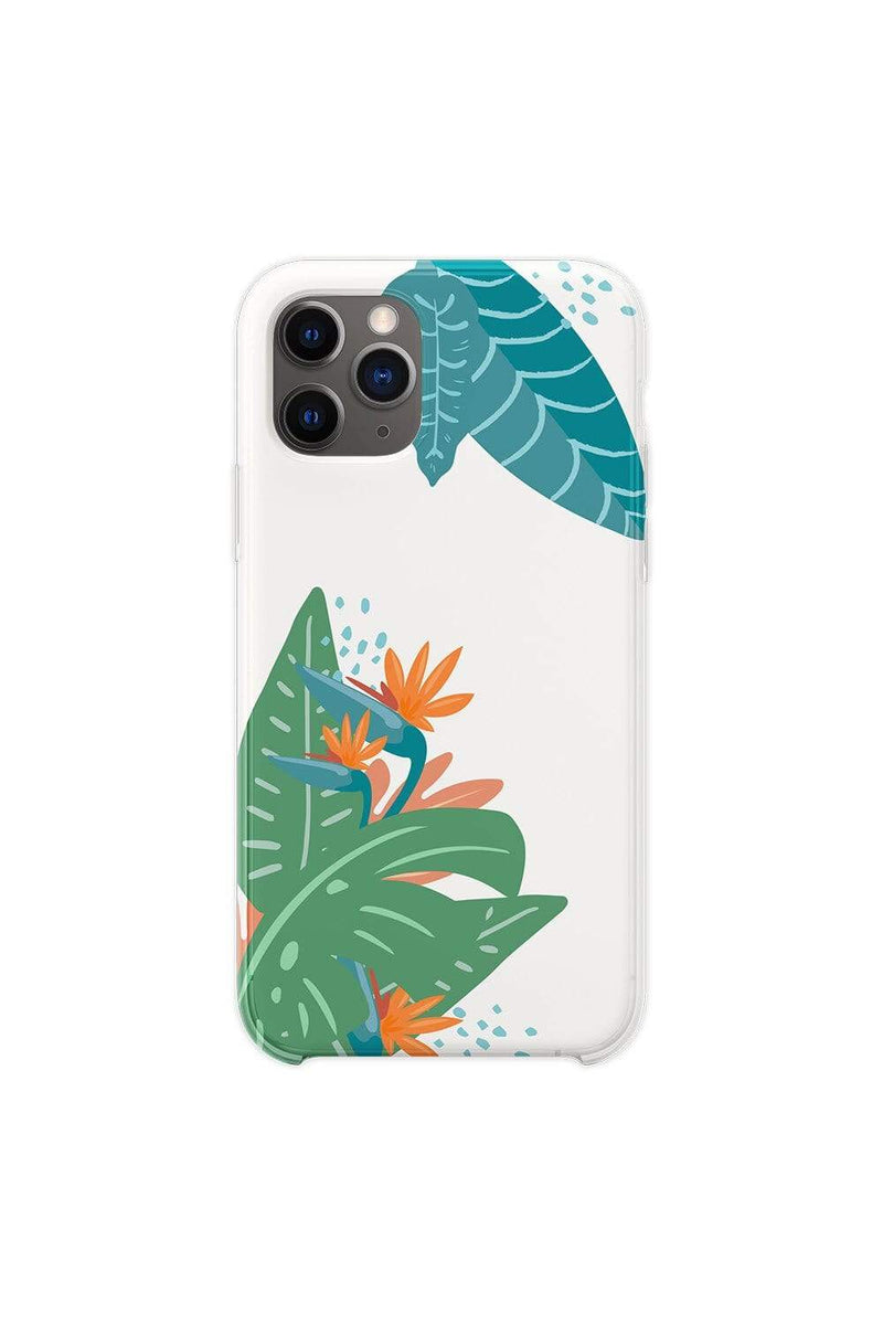 Hyram: Tropical White Phone Case