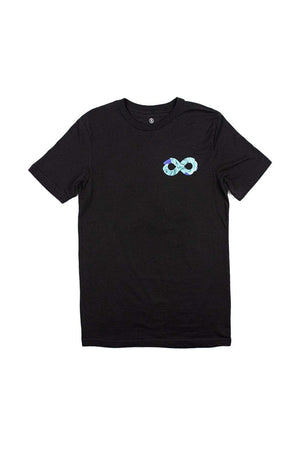 Infinite Lists: Infinity Blue Roses Tee
