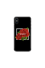 Infinite Lists: Infinity Red Roses Phone Case