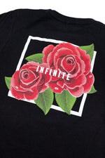 Infinite Lists: Infinity Red Roses Youth Tee