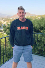 Jason Nash Collegiate Crewneck Sweater