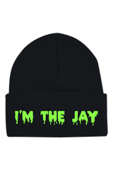 "Jay Sage ""I'm The Jay"" Black Beanie"
