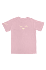 Jazlyn Jade: Happy Vibes Light Pink T-Shirt