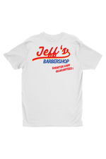 Jeff Wittek: Shorter Hair Guaranteed White Tee