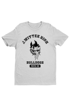 Jeff Wittek: White J. Wittek High Tee