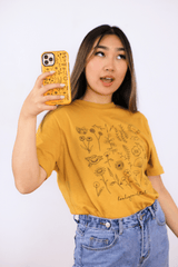 JenerationDIY: Exclusive Floral Mustard Phone Case