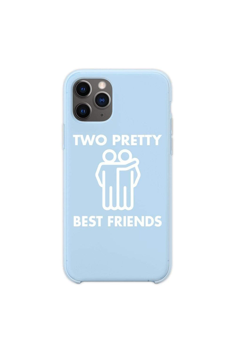 Jordan Scott: Pretty Best Friends Blue Phone Case