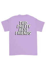 Jordan Scott: Two Pretty Best Friends Purple Shirt