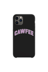 Joe Mele: CAWFEE Black Phone Case