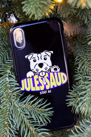Jules and Saud Piglet Phone Case