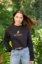 Kenz Electric Cropped Crewneck