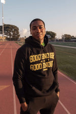 Kevin Langue 1MORE Good Enough Black Hoodie