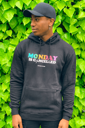 Kevin Langue 1MORE 'Monday is Cancelled' Black Hoodie