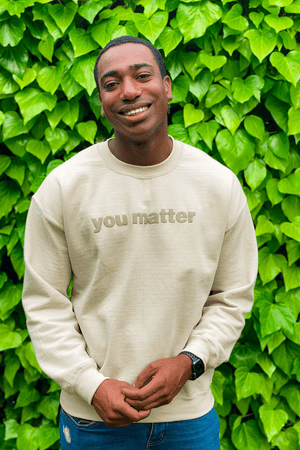Kevin Langue 1MORE 'You Matter' Crewneck