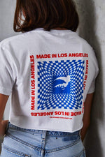 KNJ Made in Los Angeles Crop Shirt
