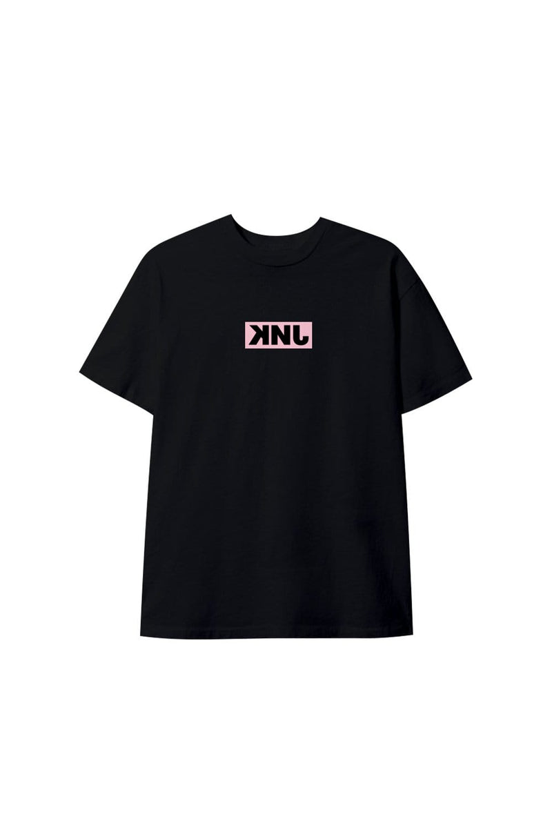 KNJ Whats Up Black T-Shirt
