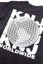 KNJ Worldwide Vintage Black Shirt