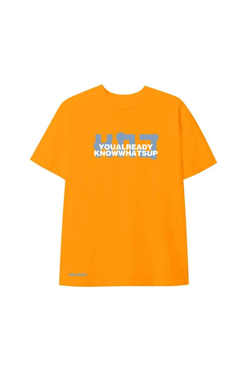 KNJ: YAKWU Orange Shirt