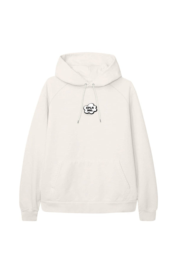 XPLR X KNJ: Better Together Bone Hoodie