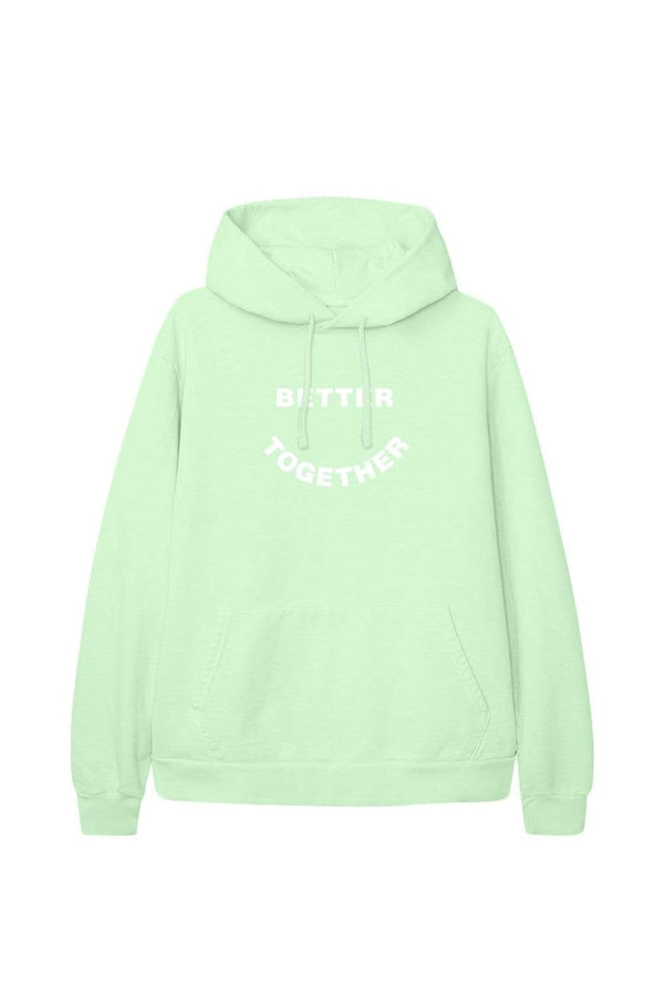 XPLR X KNJ: Better Together Green Hoodie
