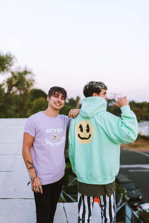 XPLR X KNJ: Better Together Purple Shirt