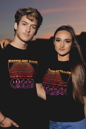 Maddie and Elijah: Loading Content Shirt