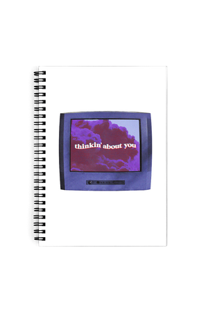 Maddie and Elijah: Thinkin' About You Notebook