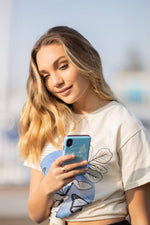 Maddiegirl Free as a Butterfly Phone Case by Maddie Ziegler