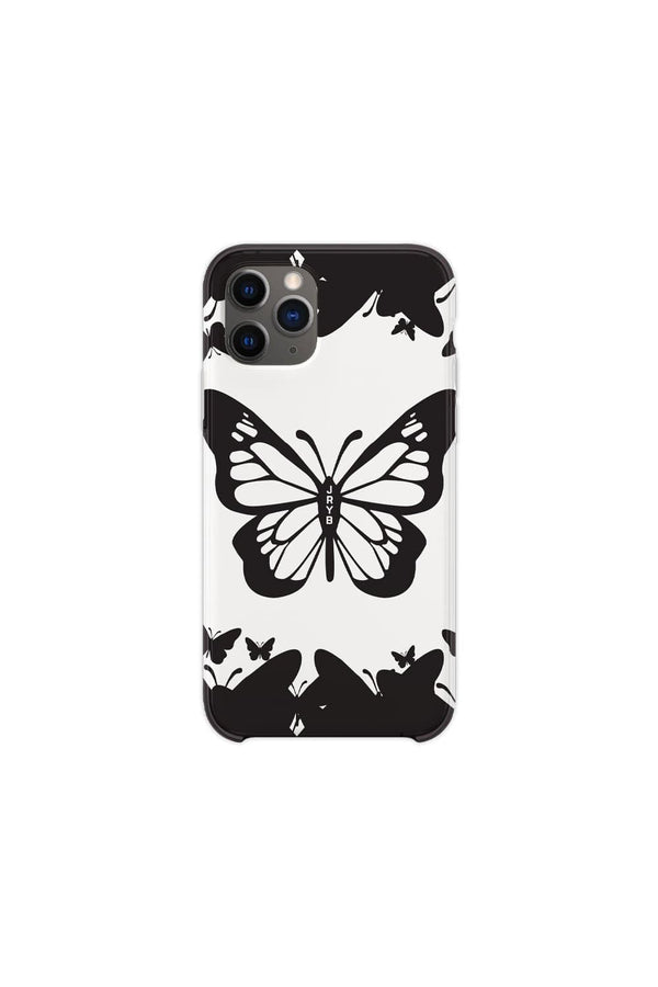 Mads Lewis: Black & White Butterfly Phone Case