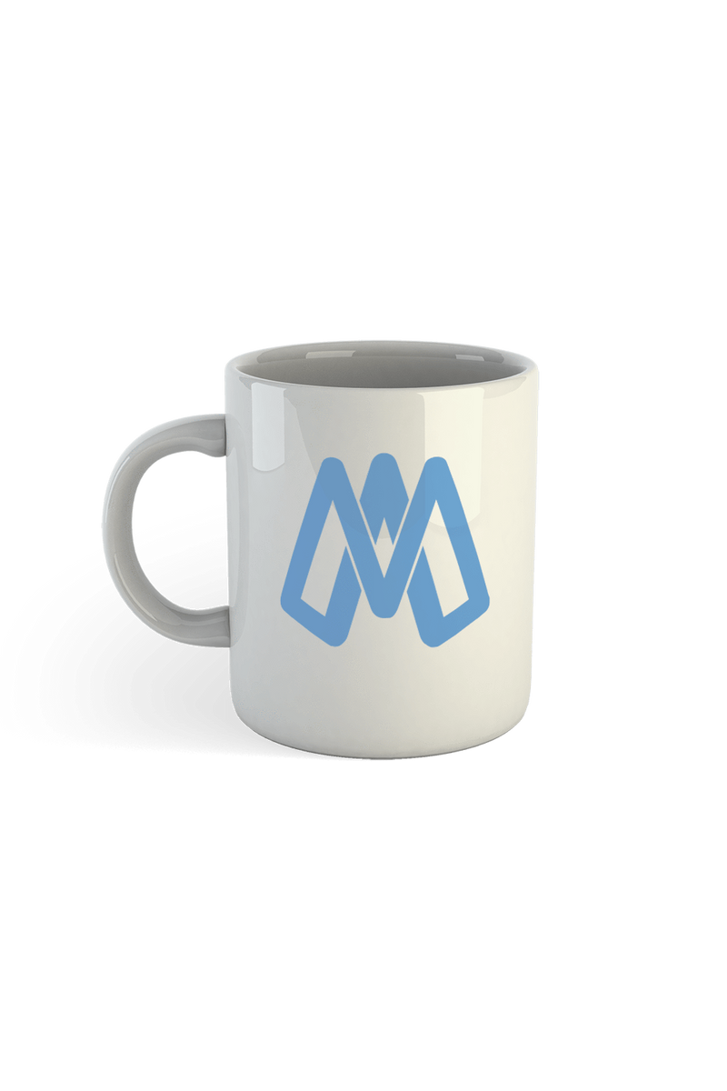 Mark Anastasio 'Monogram' White Mug