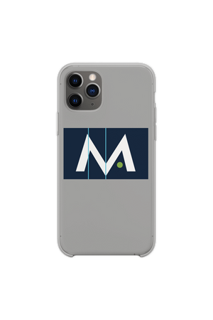 Mark Anastasio 'Signature M' Grey Phone Case