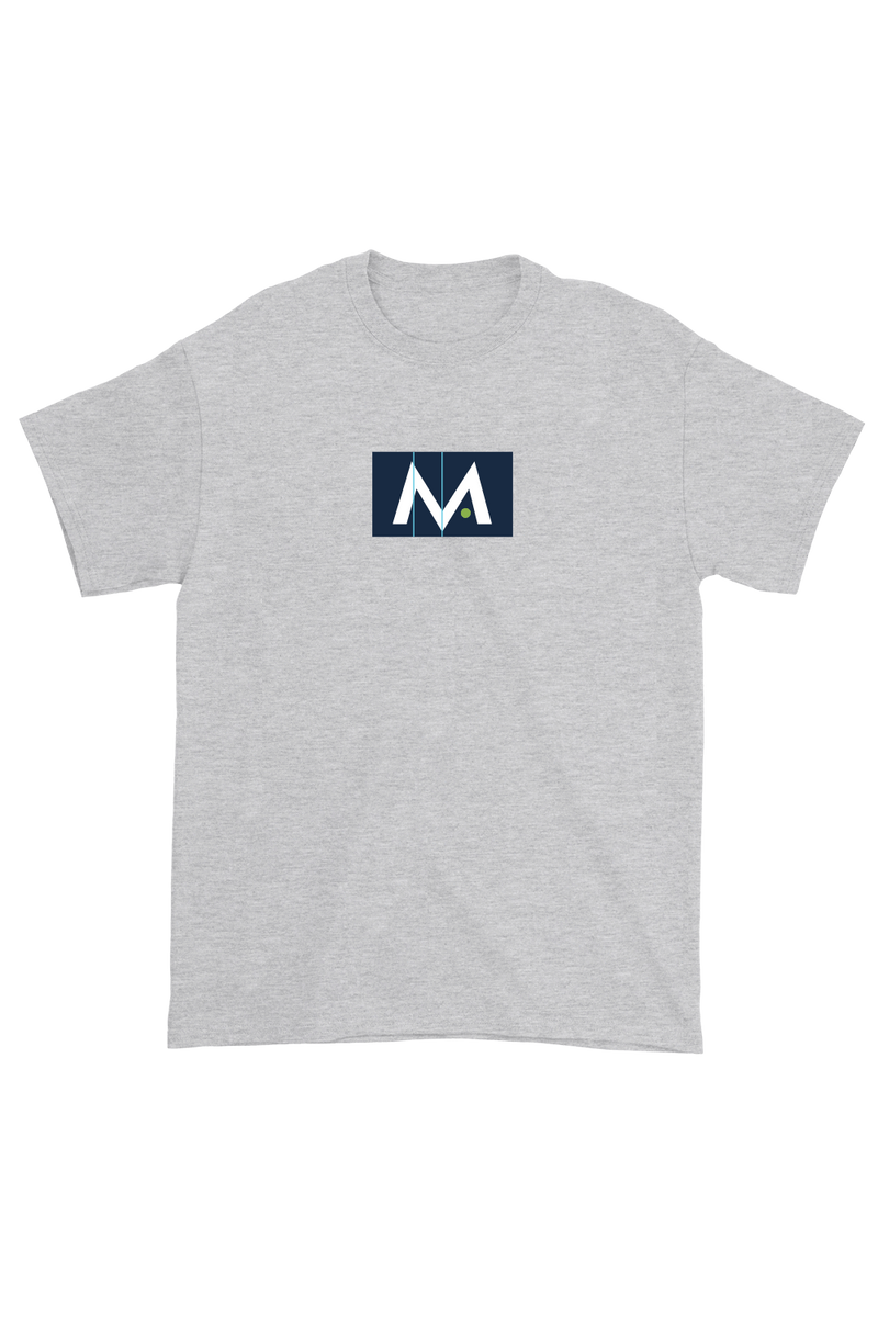 Mark Anastasio 'Signature M' Grey Shirt