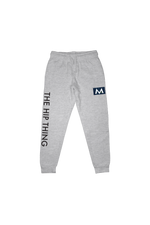 Mark Anastasio 'The Hip Thing' Heather Grey Joggers