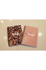Merrell Twins: Cherry Blossom Tan Notebook