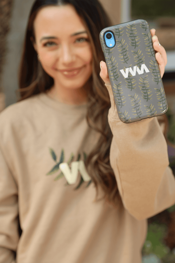 Merrell Twins: Fall Leaves Green Phone Case