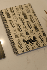Merrell Twins Fall Leaves Tan Notebook