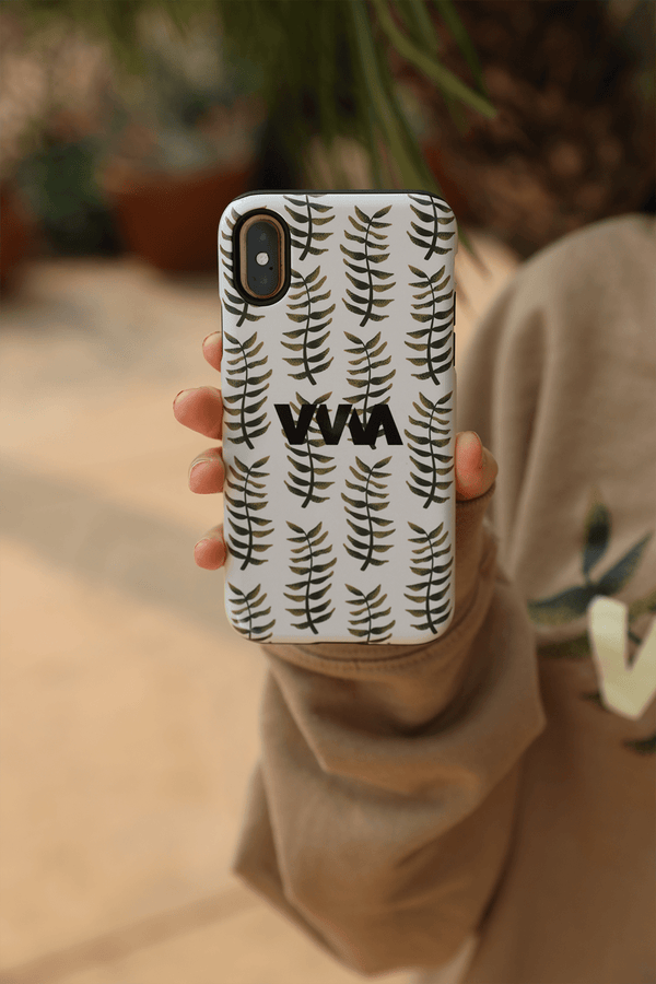 Merrell Twins: Fall Leaves Tan Phone Case